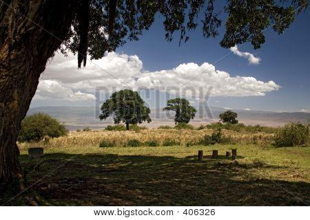 Africa Landscape 016 Ngorongoro
