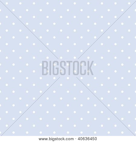 Blue vector background with polka dots