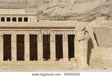 Mortuary Temple Of Hatshepsut Detail