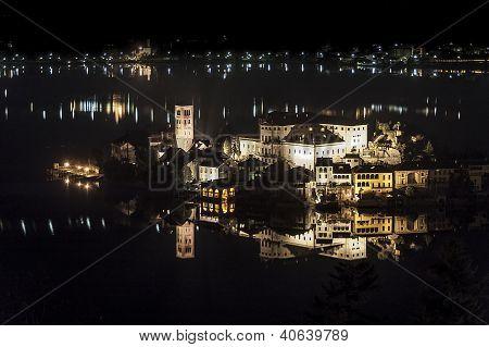 Island Of San Giulio, Lake Orta