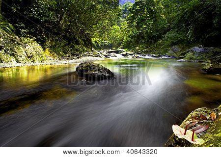Landscape water fall in Taiwan