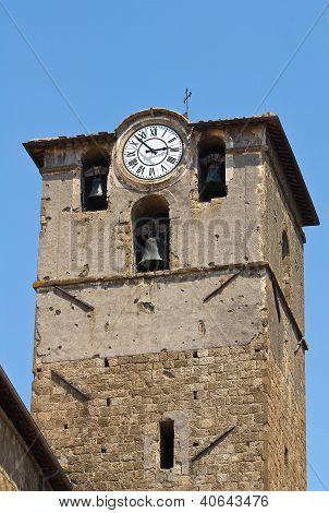 Church of St. Sisto. Viterbo. Lazio. Italy.