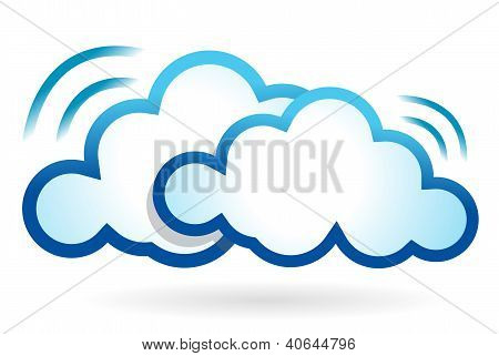 Cloud Computing Wifi Concept