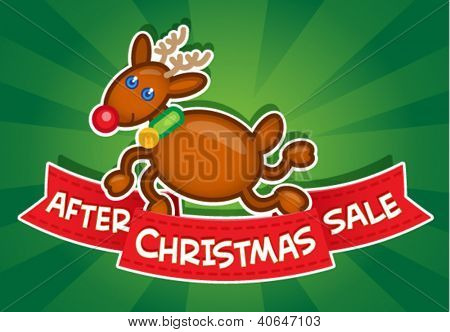 After Christmas Sale / Reindeer