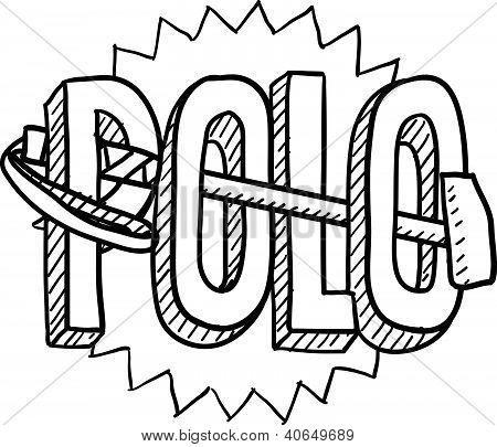 Polo sketch
