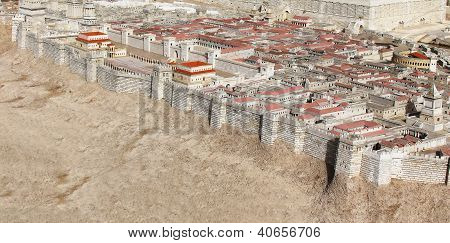 The Palace Of The High Priest Caiaphas And Herod