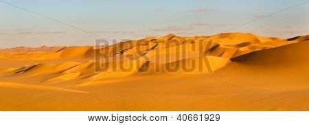 Sahara Desert Panorama