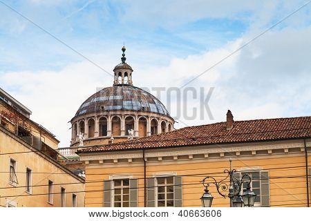 Cupola Of Chiesa Della Steccata In Parma