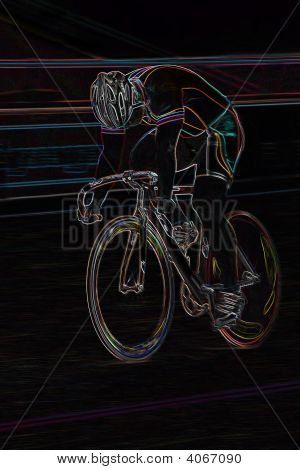 Professional Bikerider