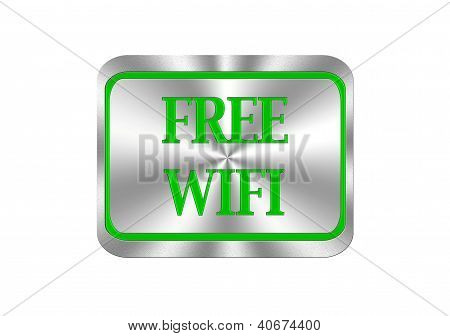 Free Wifi Button.