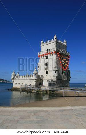 Torre De Belem In Lisbon