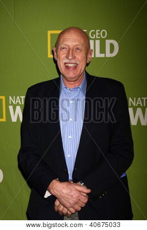 LOS ANGELES - JAN 3:  Dr. Jan Pol arrives at the National Geographic Channels'