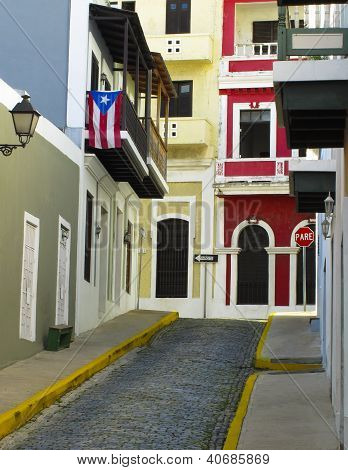Color of Old San Juan