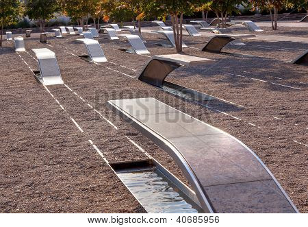 911 Memorial  To Victiims Of Pentagon Attack Arlington Virginia Washington Dc Metropolitan Area