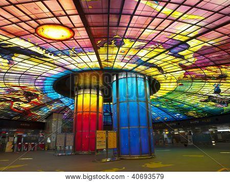 Formosa Boulevard Station, Taiwan.