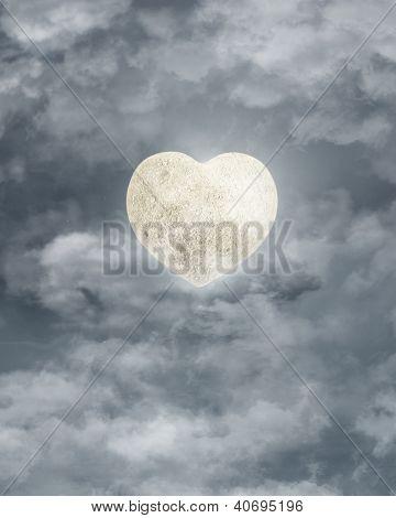 heart like moon