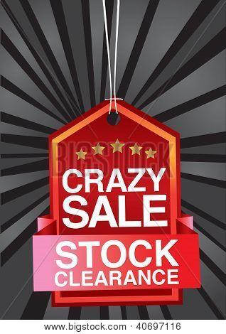 Crazy Sale Header Design