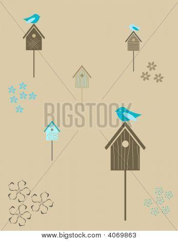 Birds Houses.