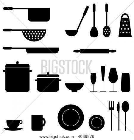 Kitchen Icons.