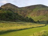 Holyrood Park at Sunset