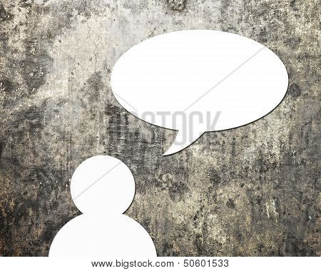 Dialog speech bubbles