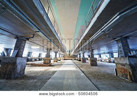 Big room under construction