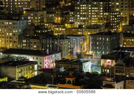 SAN FRANCISCO, CALIFORNIA - JAN 13:  View of San Francisco's Chinatown tourist district.  San Francisco's 80% hotel occupancy has pushed room rates above $155 on Jan 13, 2013 in San Francisco, Ca.