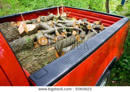 Truckload Of Firewood