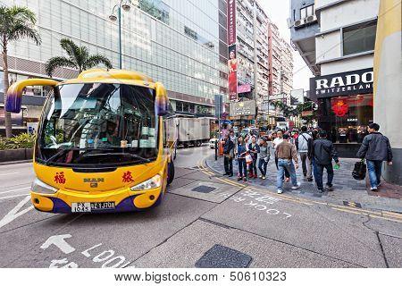 Bus In Hong Kong