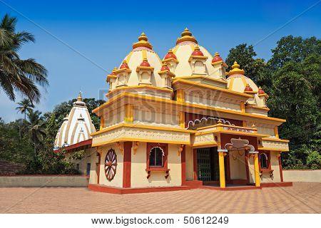 Hindu Temple In Ponda