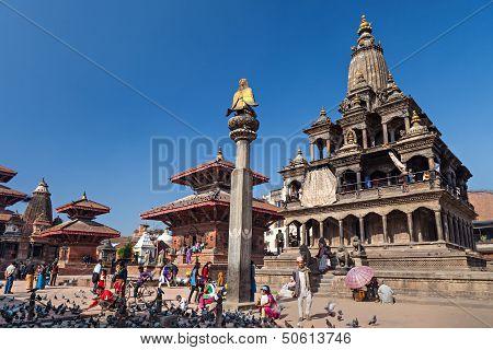 Temple On Durbar Square