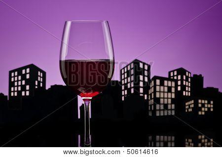 Metropolis Red Wine