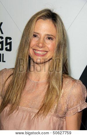 LOS ANGELES - SEP 10:  Mira Sorvino at the
