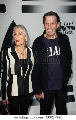 LOS ANGELES - SEP 10:  Leonard Nimoy at the