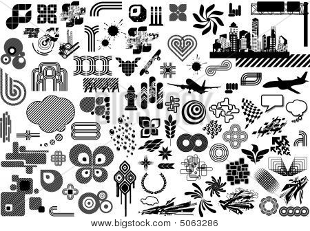 Value Pack: 100 Design Elements