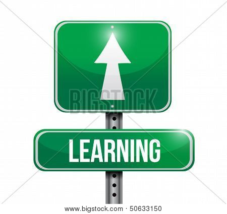 Learning Road Sign Illustration Design