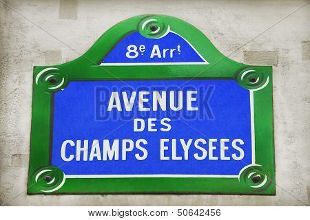 Avenue Des Champs-elysees