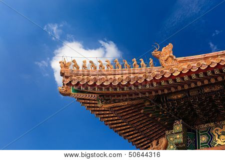 The Eaves In The Forbidden City