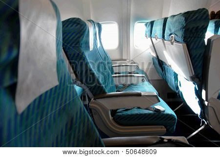 Airplane Seat Row