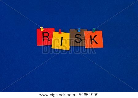 Risk - Business Sign