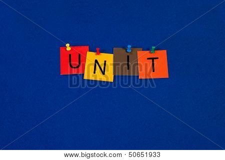 Unit - Business Sign