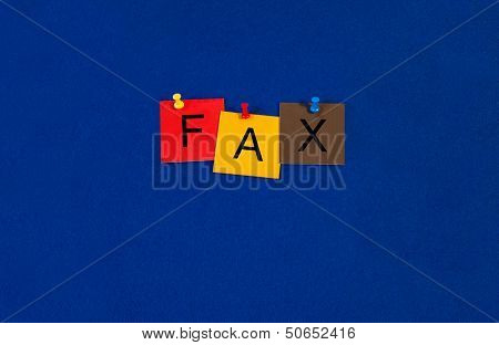 Fax - Business Sign