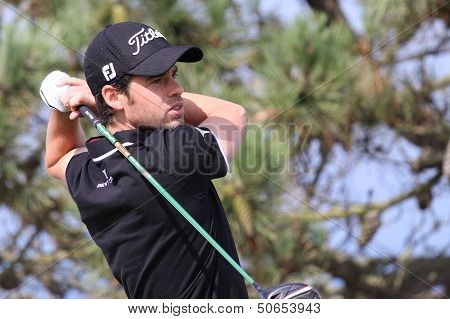 Victor Riu at the Pleneuf Val Andre golf challenge 2013