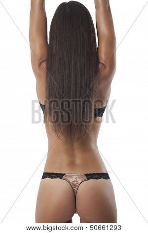 Amazing Hot Sexy Thong Lingerie And Body