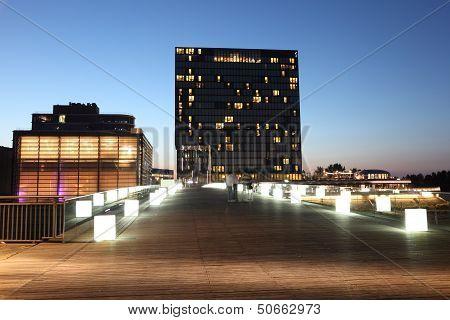 Dusseldorf Media Harbor, Germany