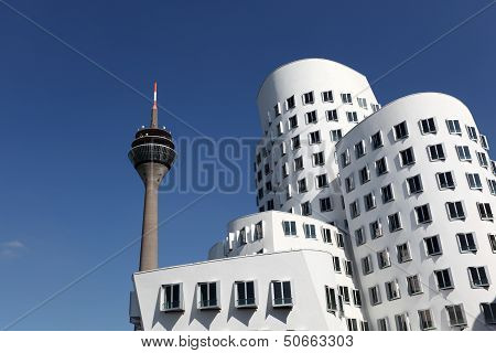 Neuer Zollhof, Dusseldorf, Germany