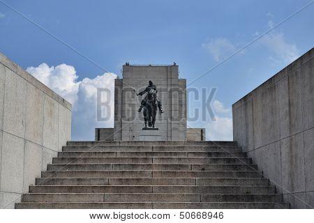 National memorial at Vitkov, Prague, Czech republic