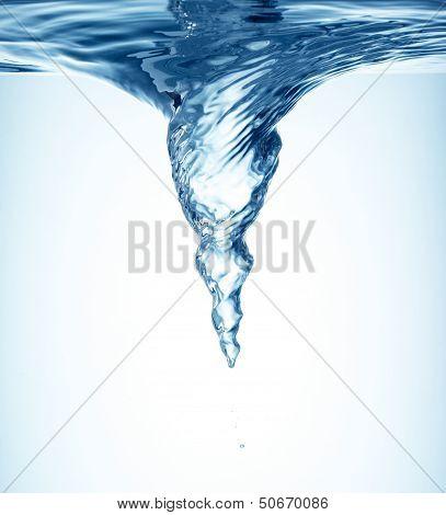 Whirlpool Underwater