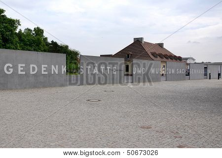 Sachsenhausen camp Memorial Museum  entrance o