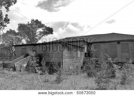 Sachsenhausen abandonned building